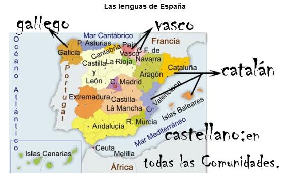 Resultado de imagen de lenguas de españa